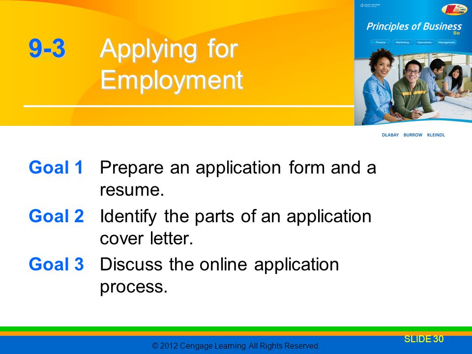 9-3 Applying for Employment