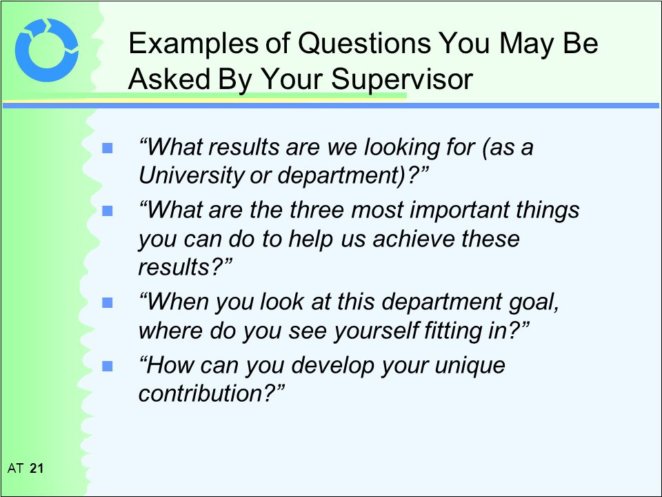 questions ask your dissertation supervisor I think this is a vital 'research skill', yet it seems that many people don't bother to develop the capacity to ask the right questions at the right times when i was a phd student it is my opinion that my supervisors did not ask enough questions about my knowledge, skills and understandings, and were therefore.