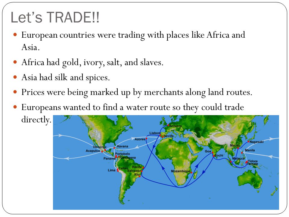 Exploration and Colonization - ppt download