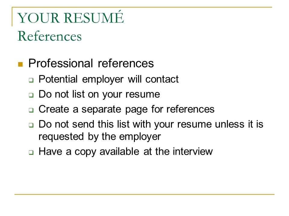 do references go on a separate page on a resume 28 images apa