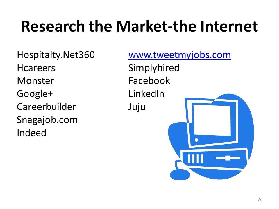 Research the Market-the Internet