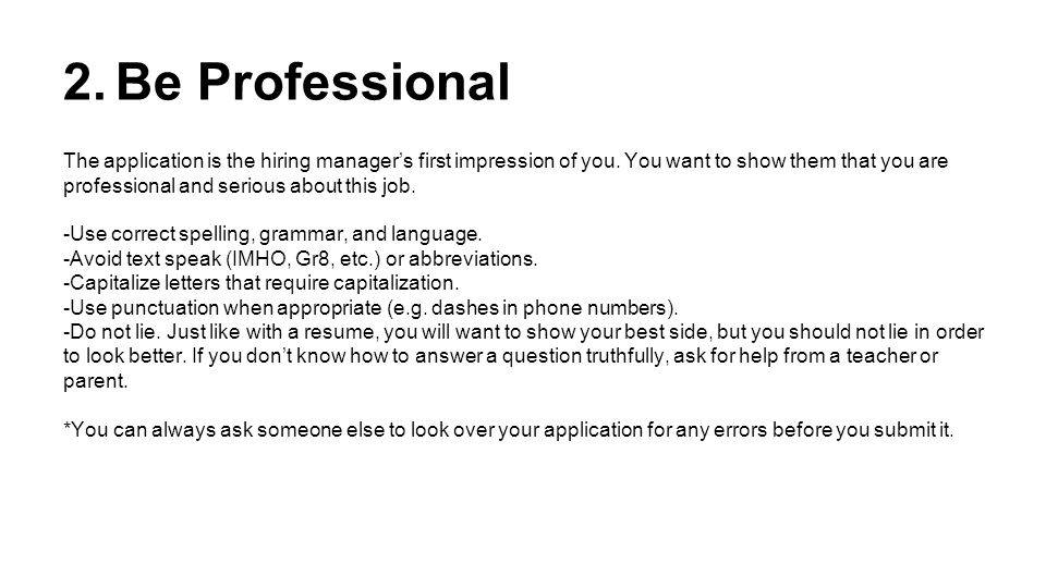 how to ask someone for a job