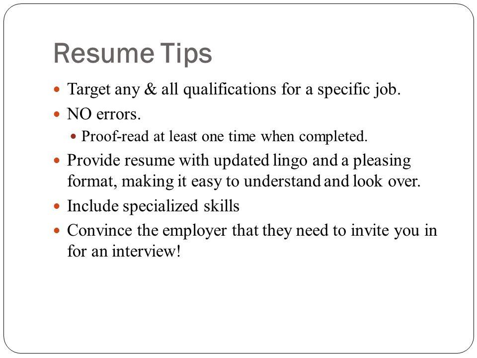online resume workshop ppt video online download
