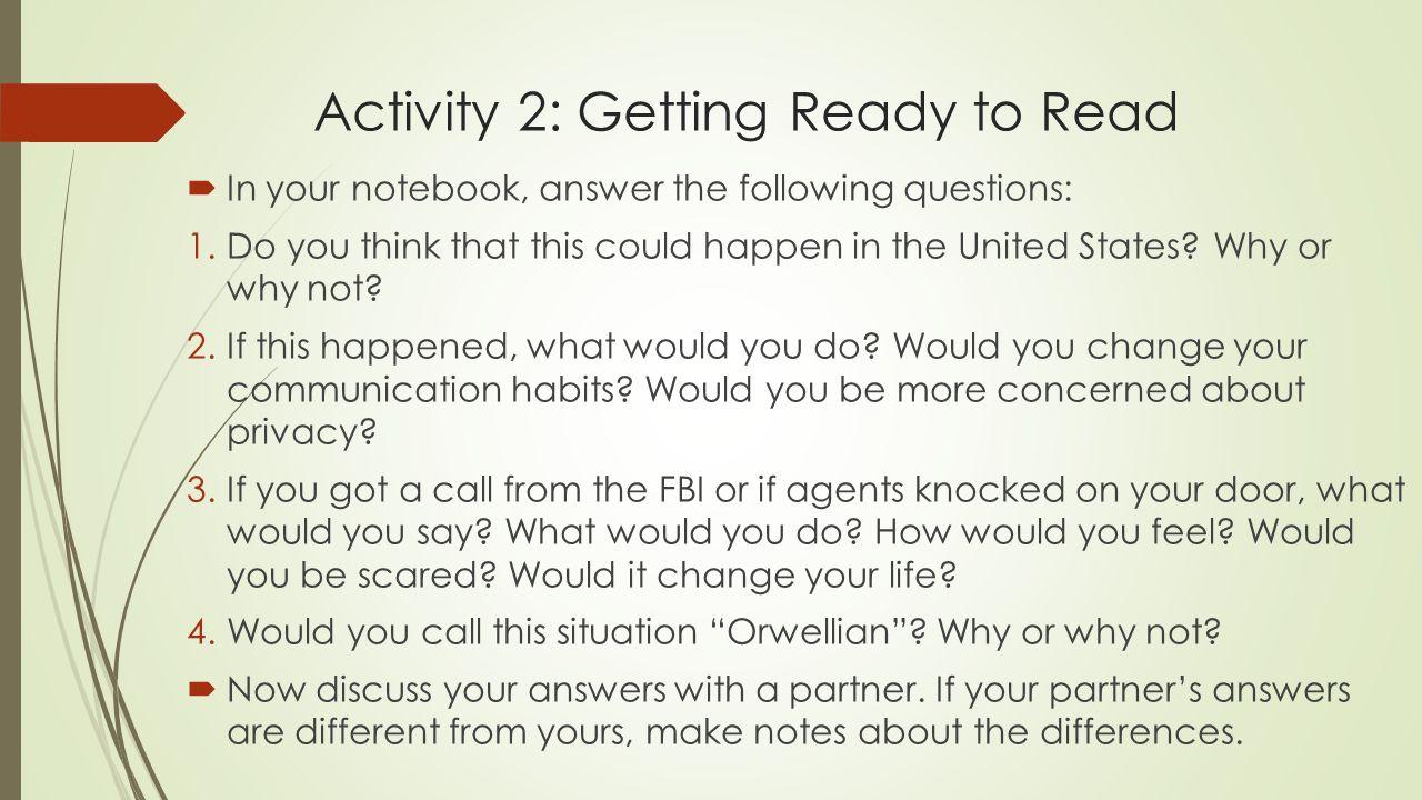 1984 study questions