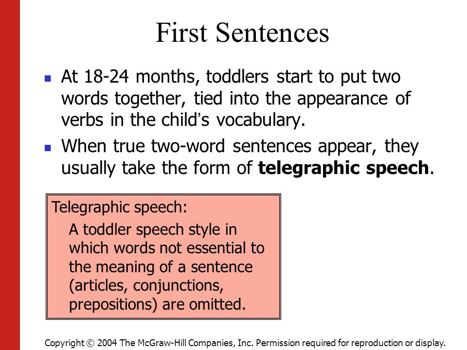 Week  Lecture Toddler Language And Thinking  Ppt Video Online Download