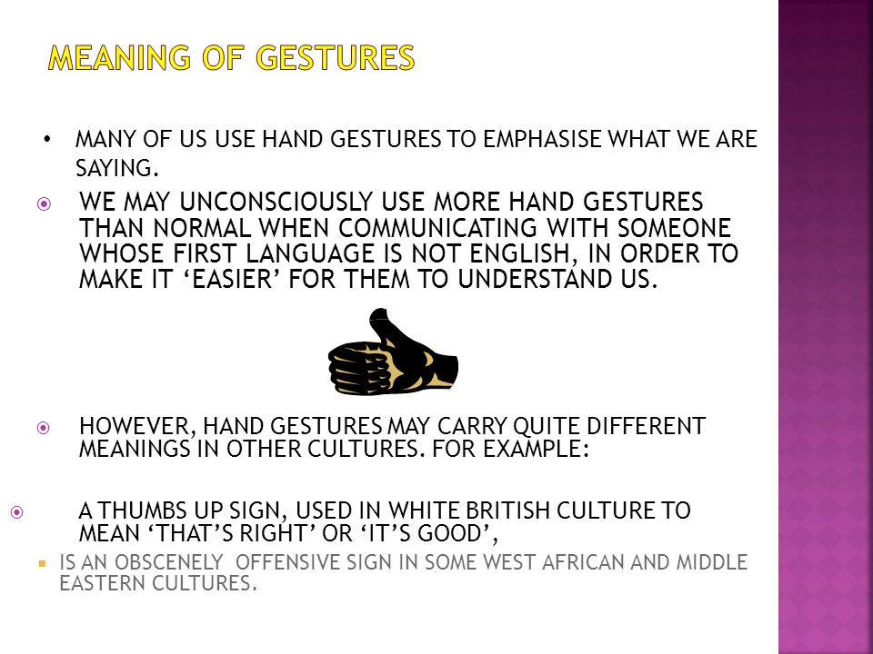 hand gestures in different cultures pdf