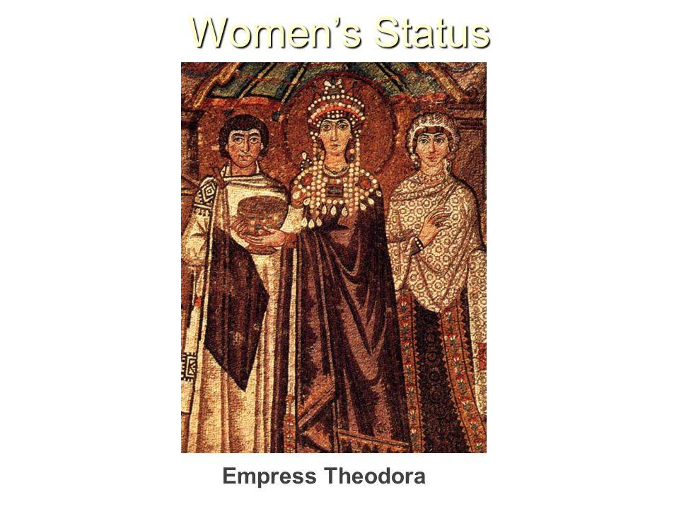 Women's Status Empress Theodora