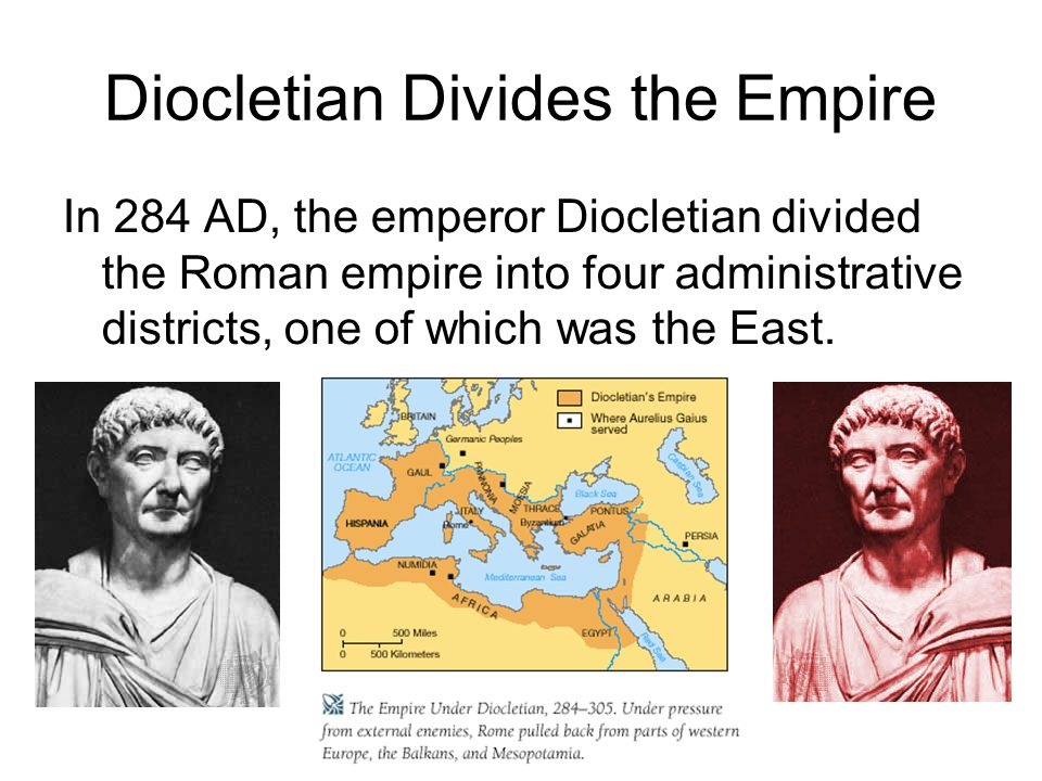 Diocletian Divides the Empire
