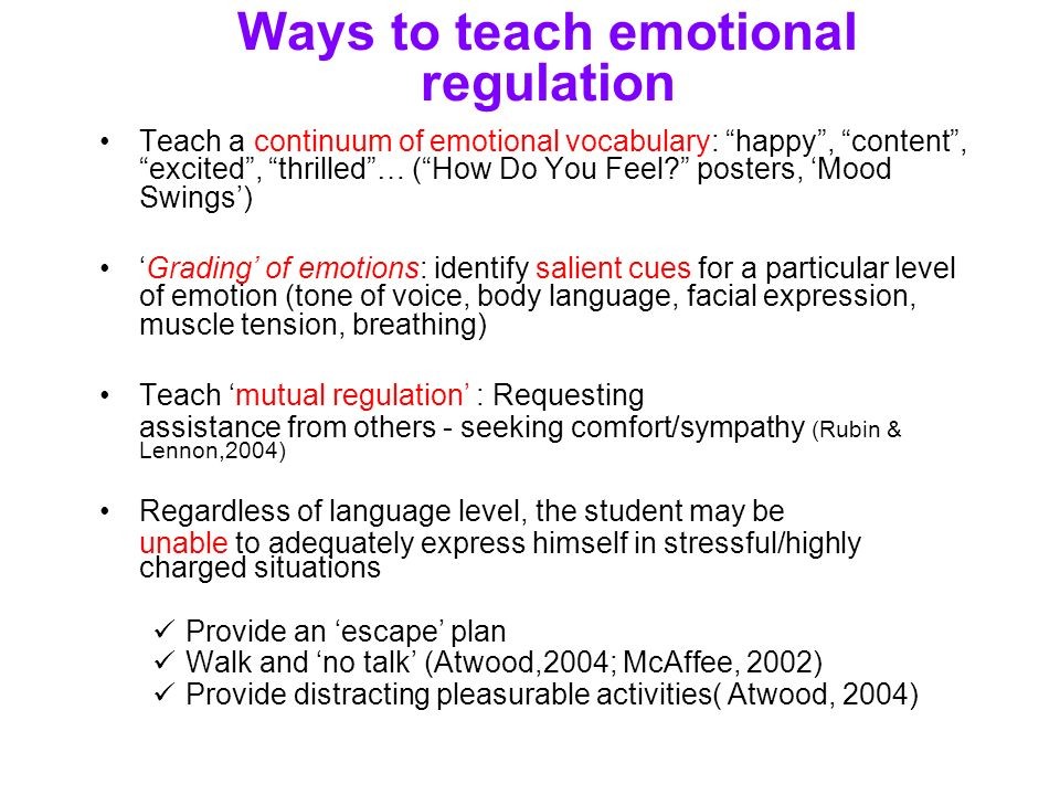 AAC and ASD Engineering PerspectiveTaking and Emotional – Emotion Regulation Worksheet