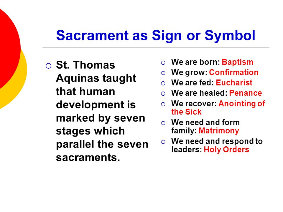 The Sacraments Of Christ Ppt Video Online Download