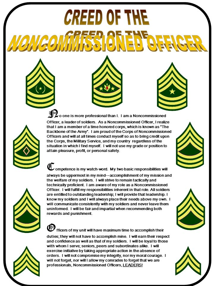 non commissioned officer and respect Provisions for retired pay, pensions, etc, not to apply in respect of person  seconded  soldier means any warrant officer, non-commissioned officer or  man.