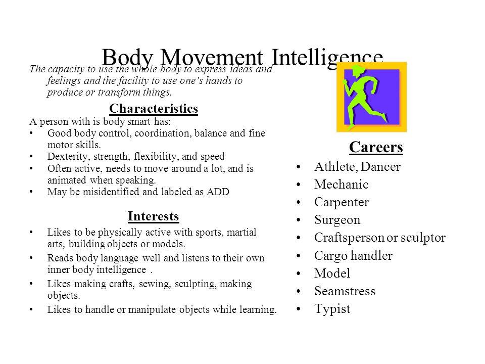 Body Movement Intelligence