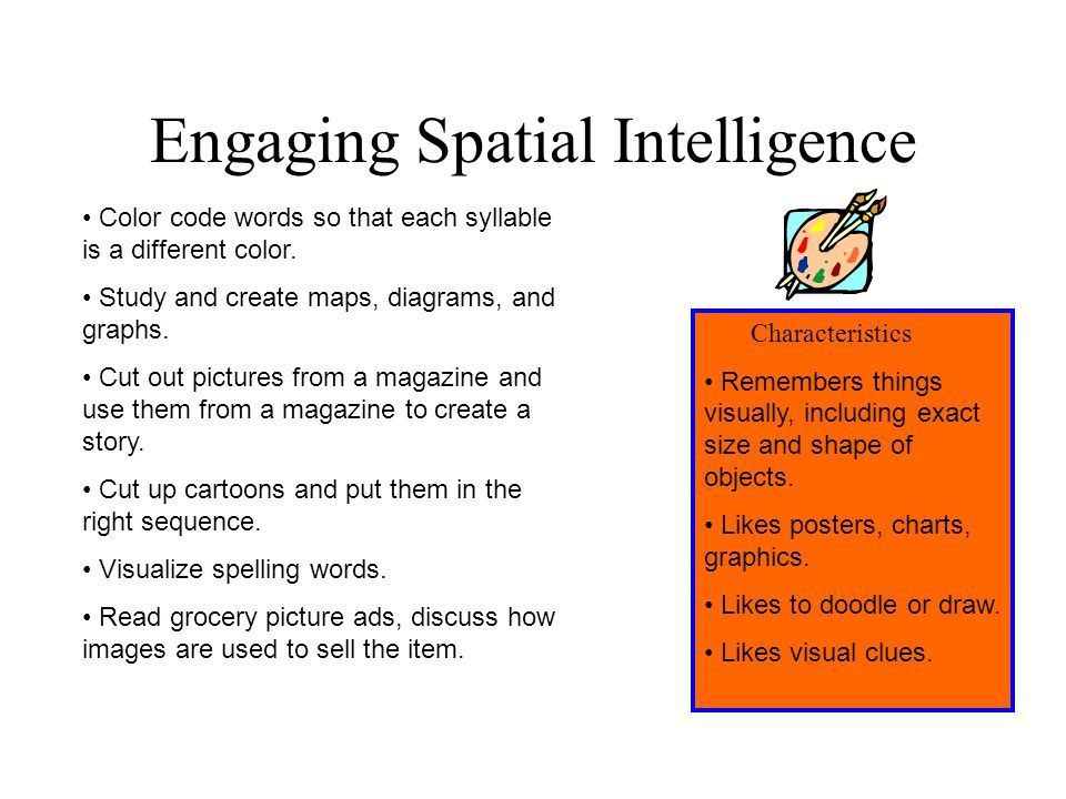 Engaging Spatial Intelligence