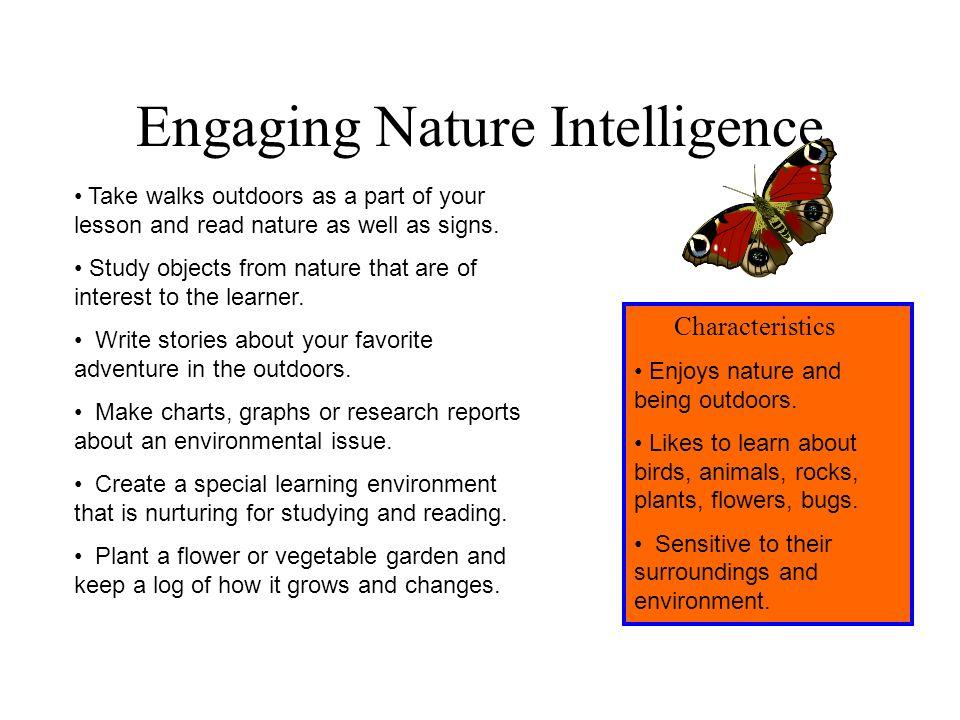 Engaging Nature Intelligence
