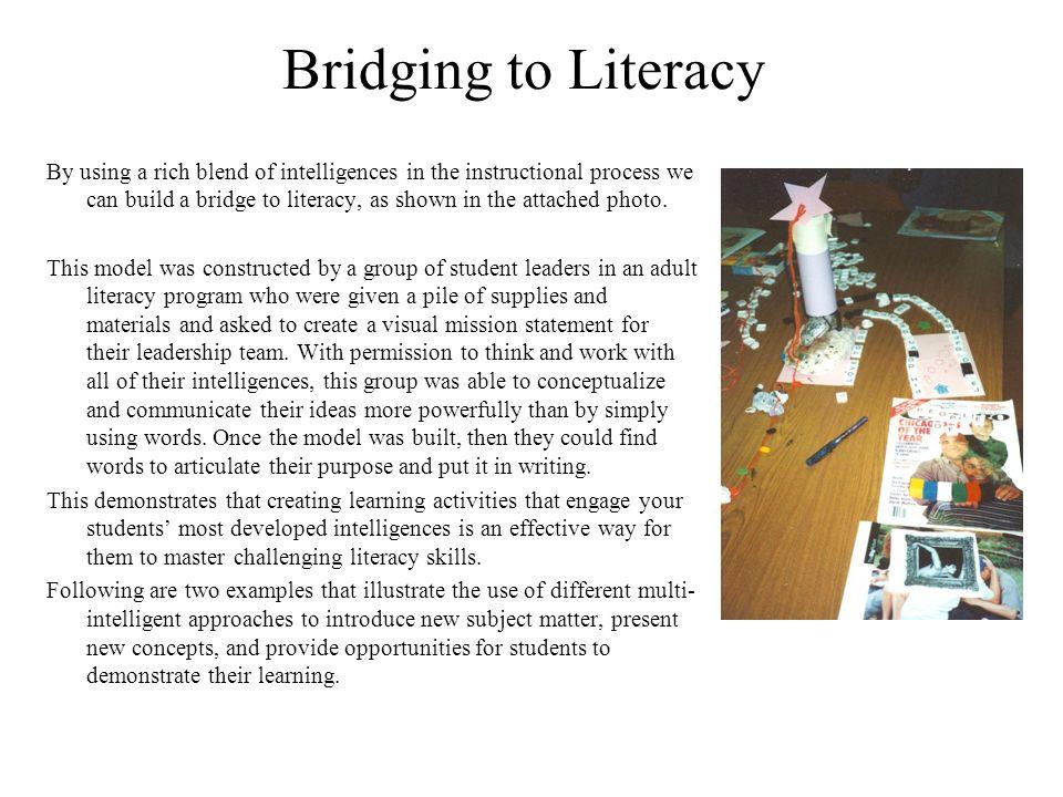 Bridging to Literacy