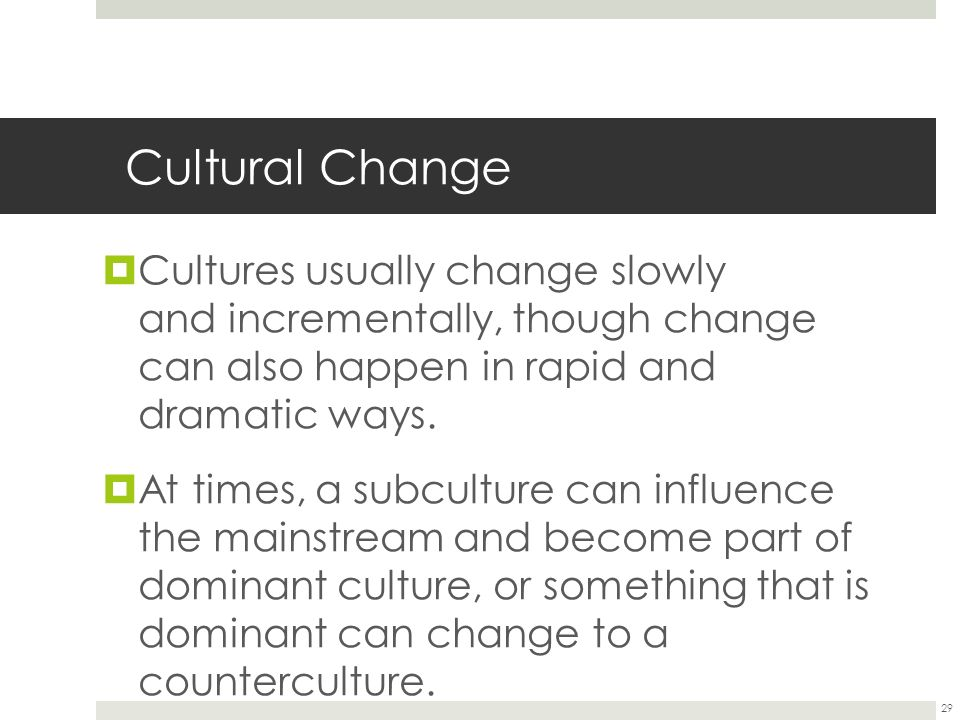 Cultural Variation and Culture Change Essay Sample