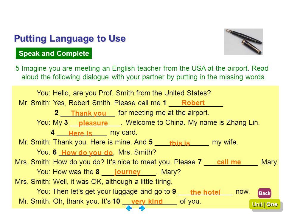Putting Language to Use