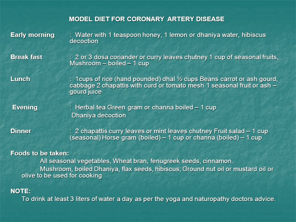 The 3 Most Powerful Diets to Combat Coronary Artery Disease