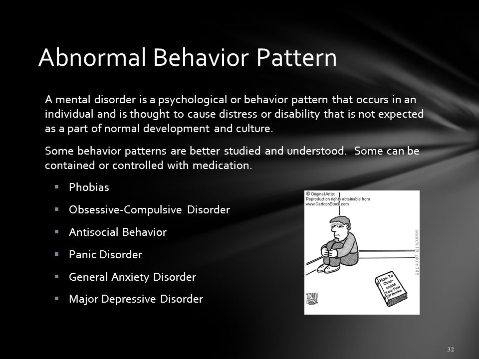 an analysis of the major models of abnormality that cause abnormal behavior The many different models used to explain the nature and treatment of mental  illness compound the problems of defining and classifying abnormal behaviour.