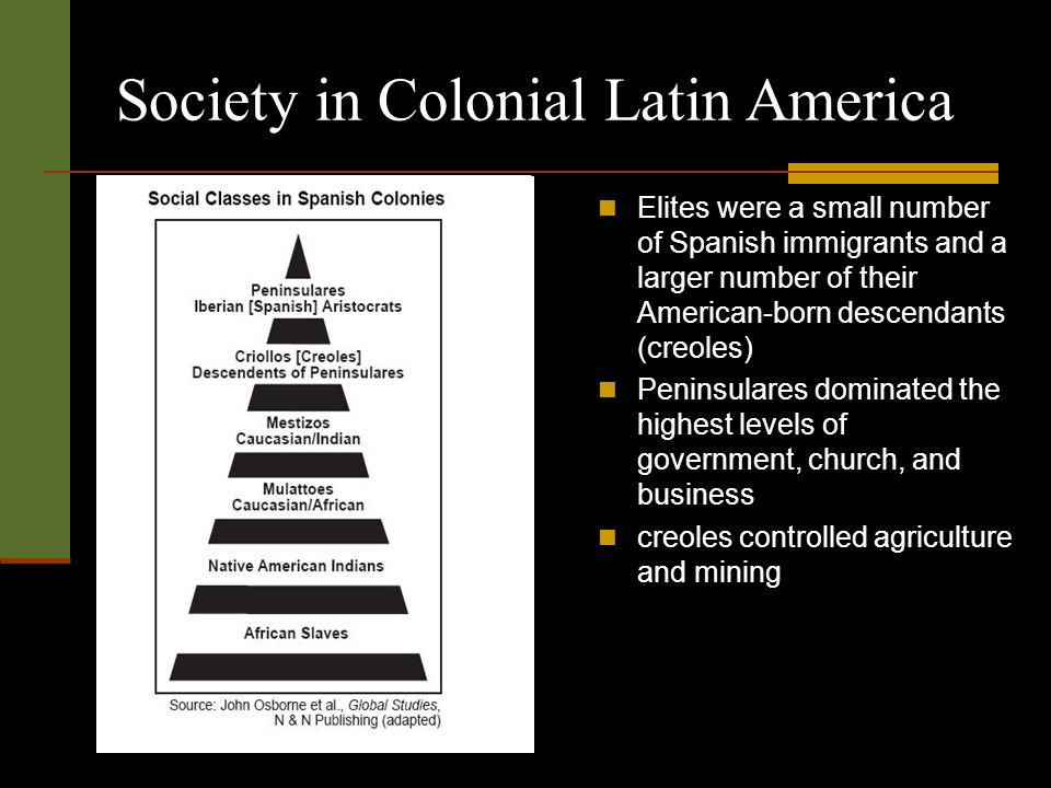 The Diversity of American Colonial Societies 1530 -1770