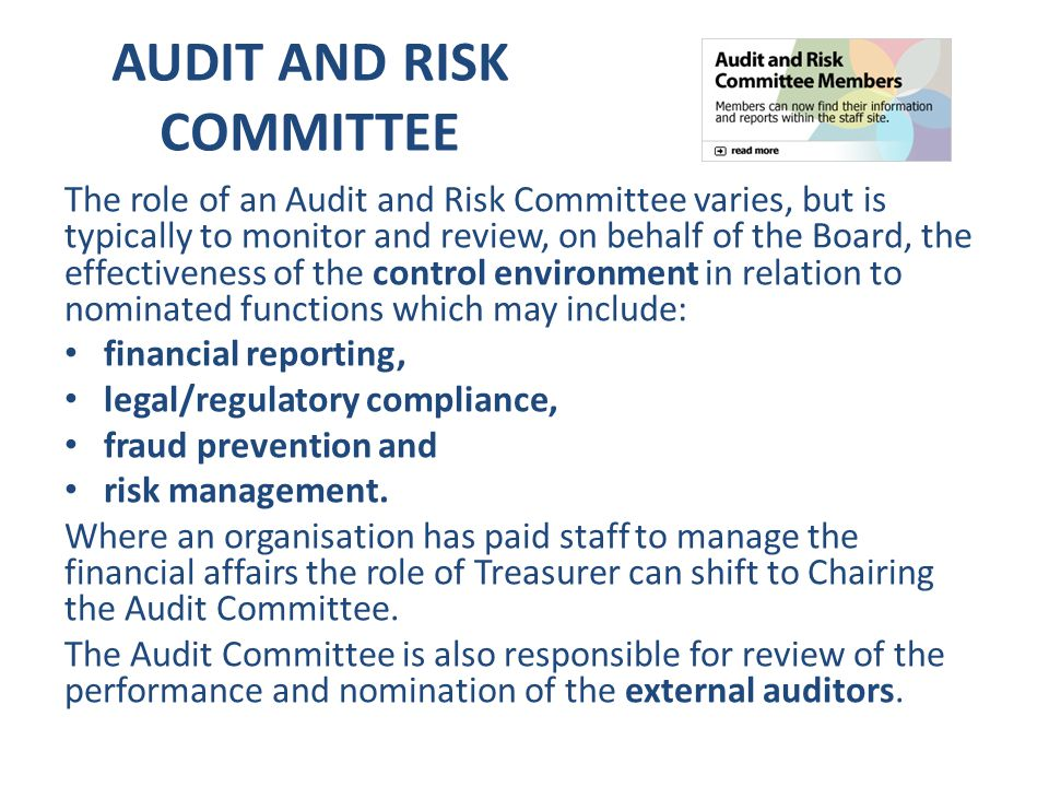 CBB Budget and Audit Committee