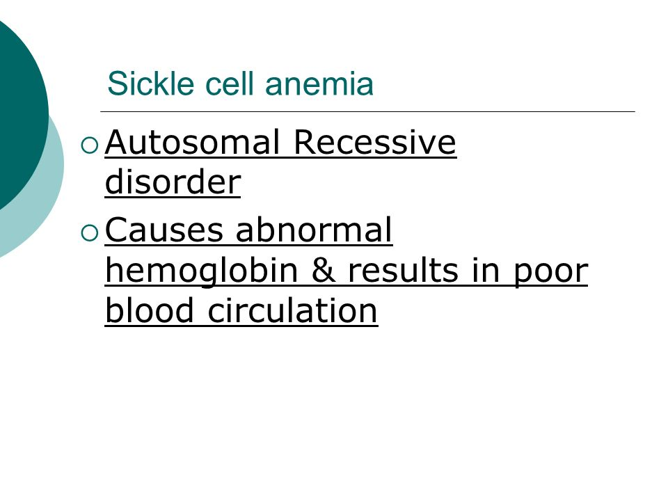 Is sickle cell anemia sex-linked photos 45