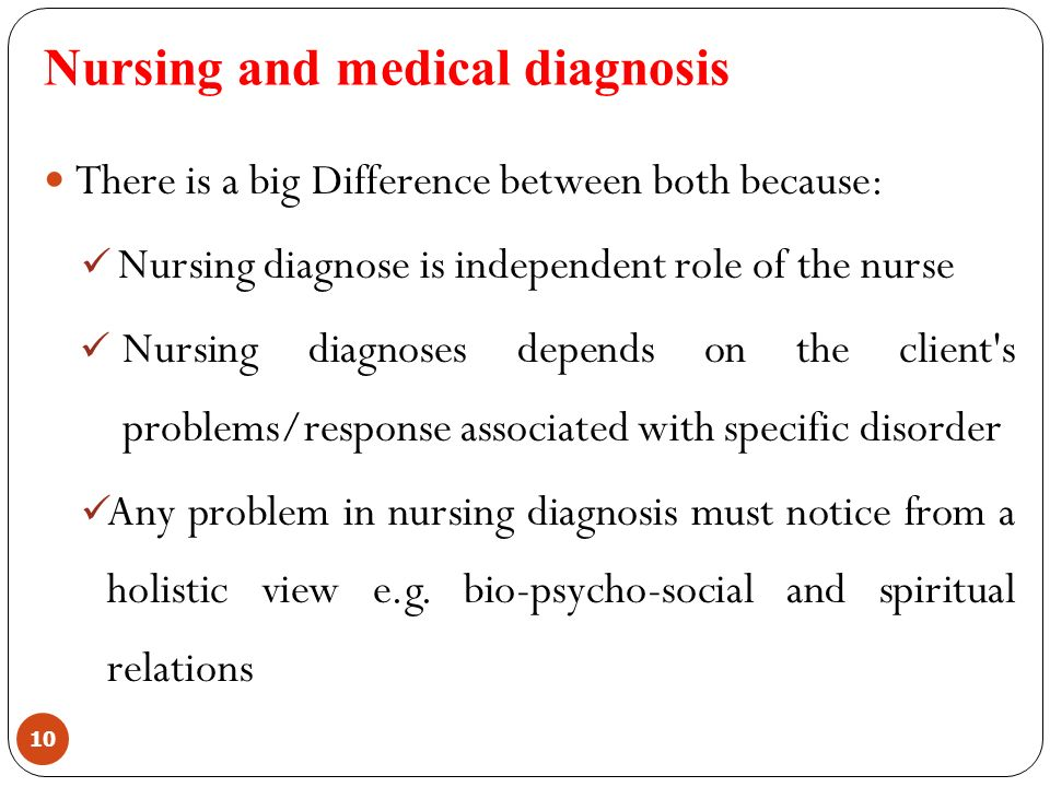 differentiate between nursing diagnoses and collaborative problems That is different, but complementary to medicine, social services, and other health care services one way the unique services of nurse practitioners are recognized is through the documentation of the problems they identify and treat this includes the identification of nursing diagnoses however, a number of authors have.