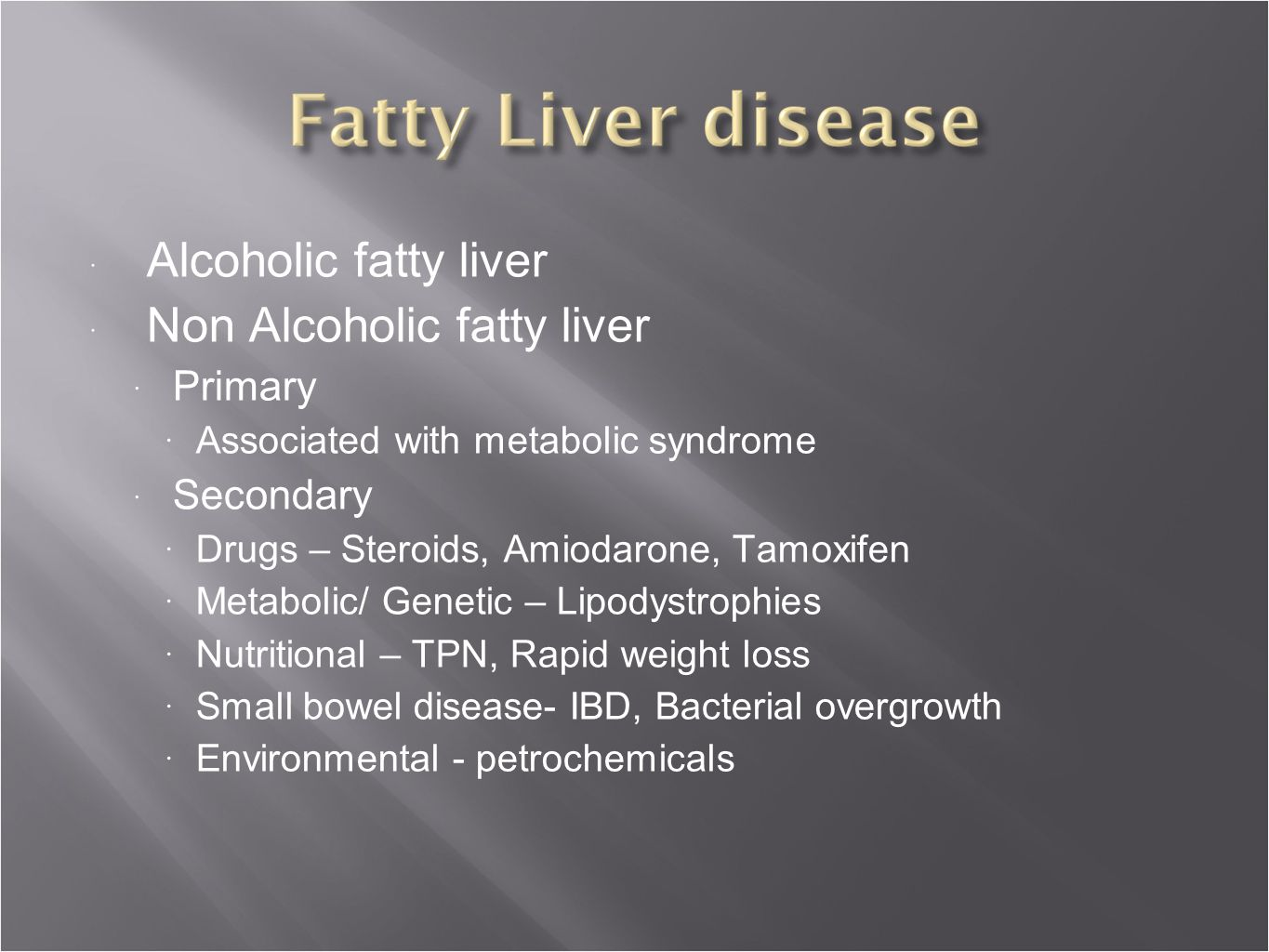 Non Alcoholic Fatty Liver Disease Nafld Acg Patients ...