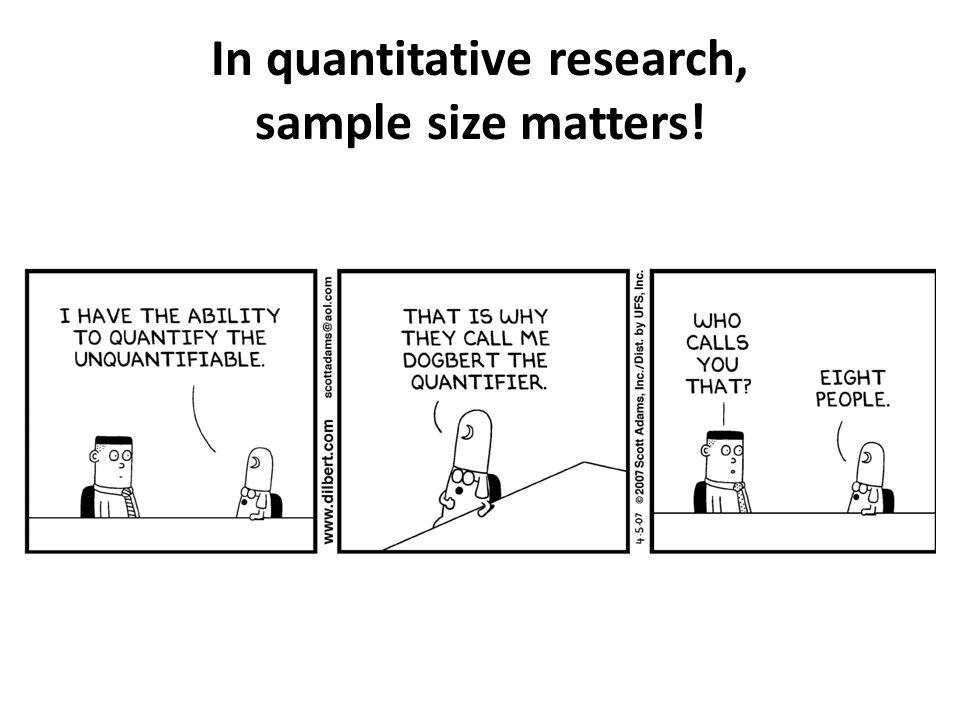 sample size in quantitative research pdf