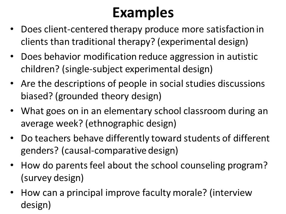 Classroom Design Survey ~ Formulating your research part i ppt download