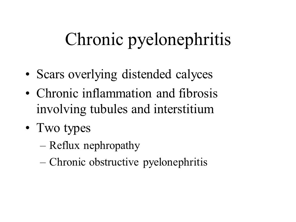 chronic pyelonephritis - photo #37