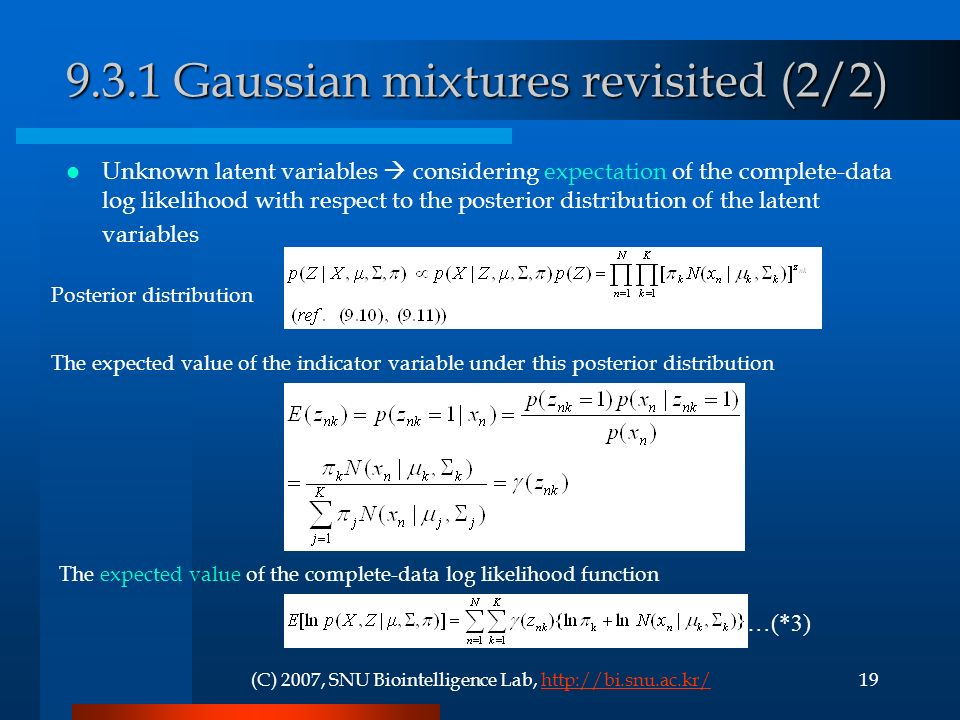 9.3.1 Gaussian mixtures revisited (2/2)