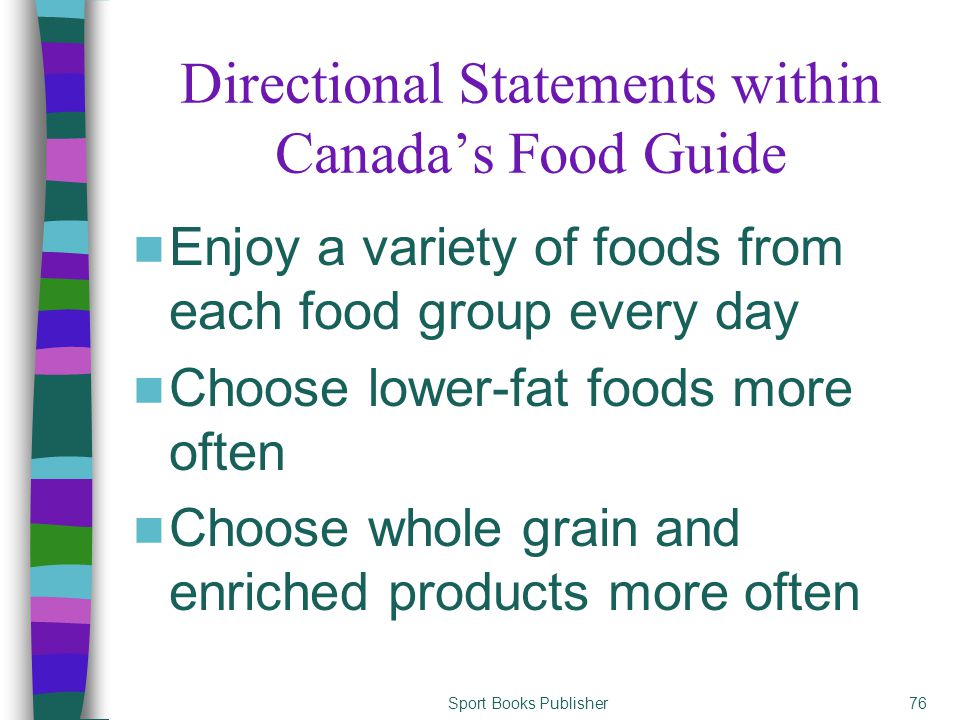 canada food guide grain servings