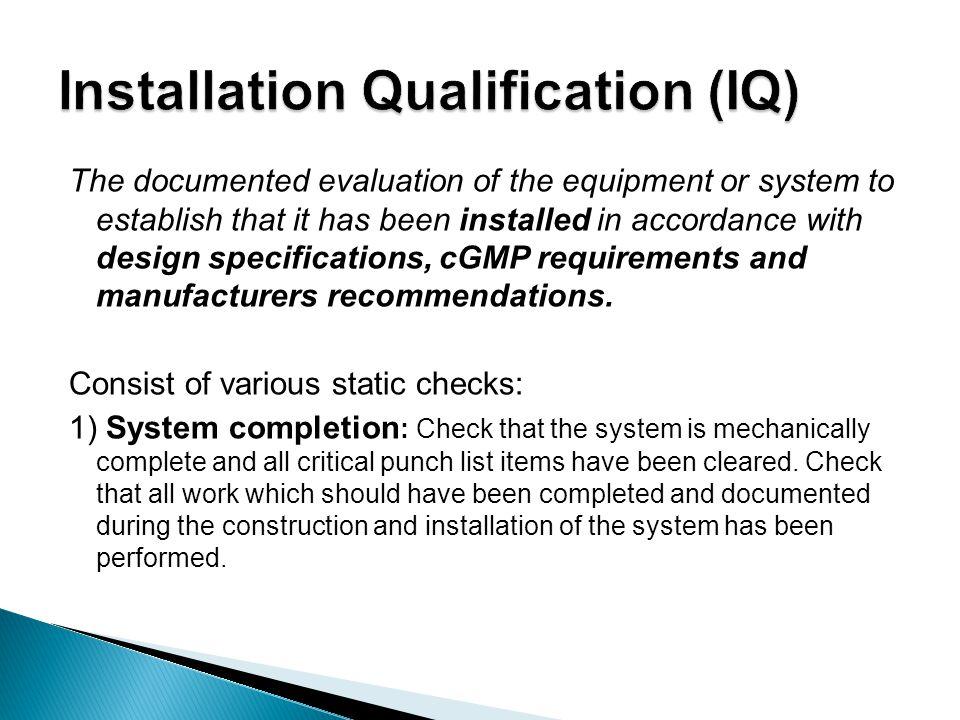 Fine Installation Qualification Template Adornment - Resume Ideas ...