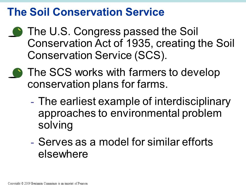 Environment ecology 008 soil agriculture the future for Soil conservation act