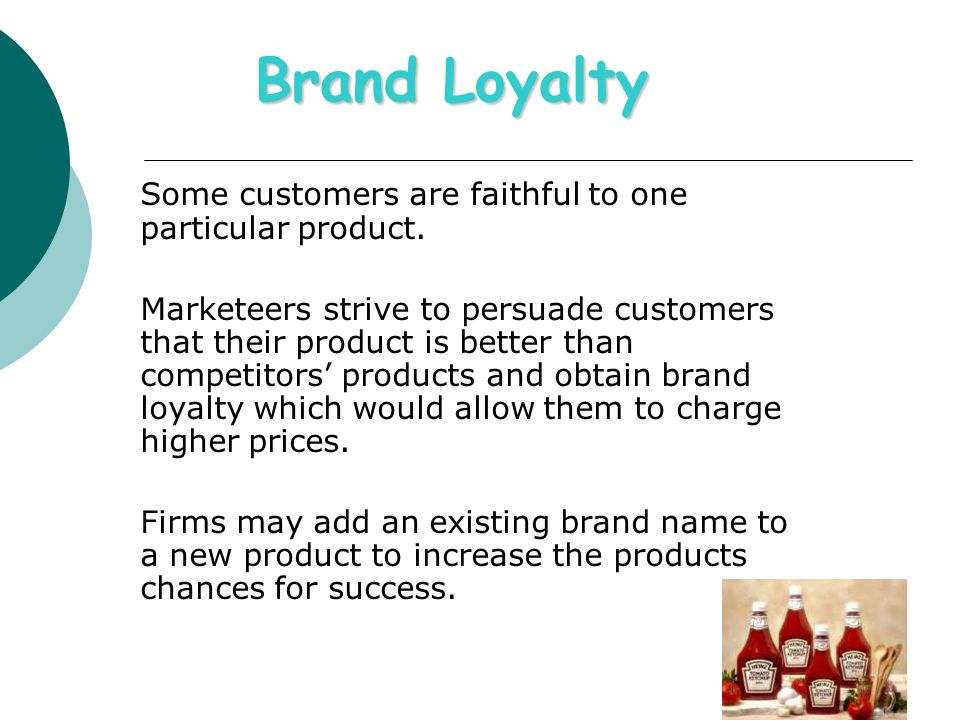 Brand loyalty and involvement in customers