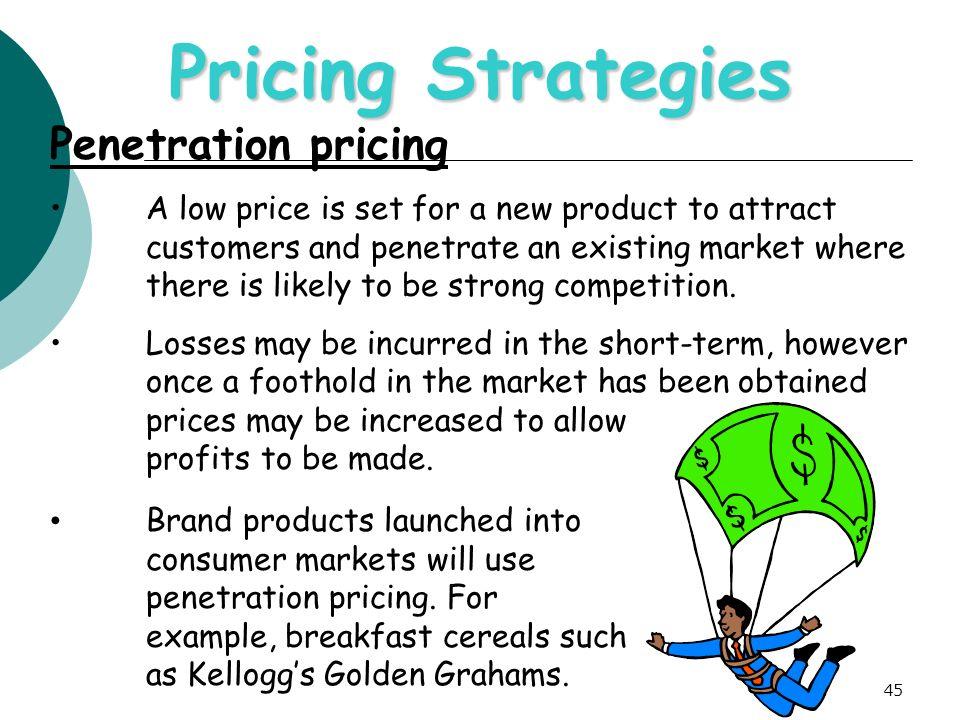 strategies for market penetration