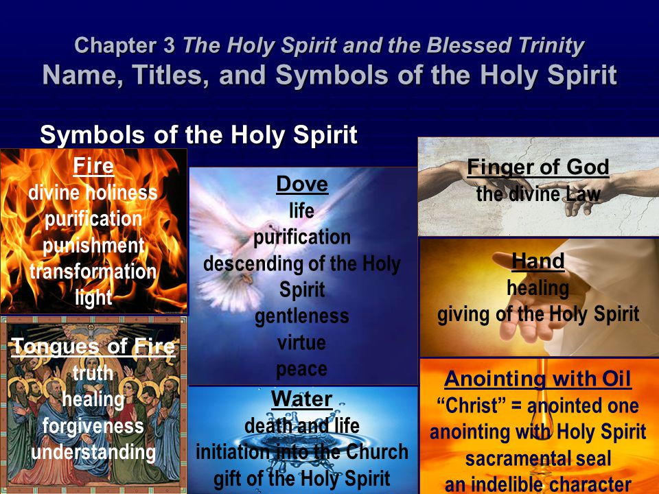 Symbols Of The Holy Spirit Water | www.imgkid.com - The ...