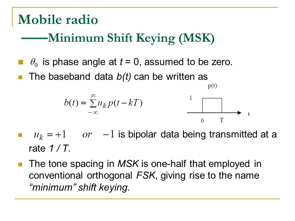 phase shift keying and guard interval Performance of multi carriers with quadrature phase shift keying (qpsk) and offset quadrature phase shift keying (oqpsk)[7] with guard interval in a fading.