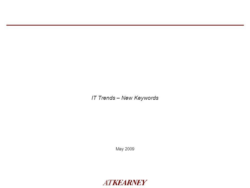 IT Trends – New Keywords