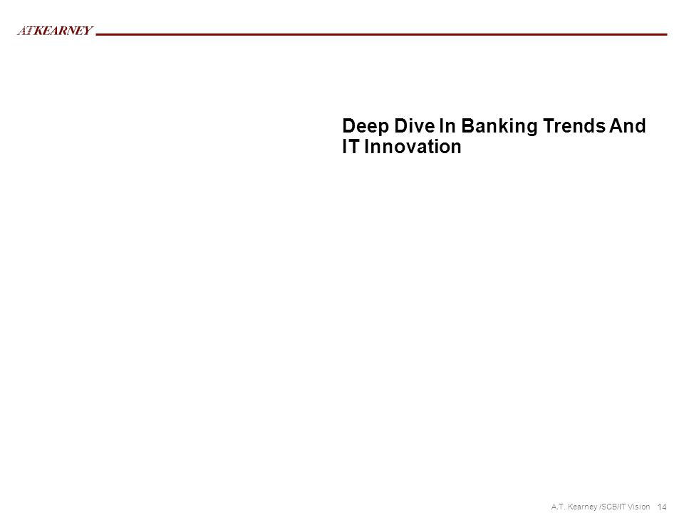 Deep Dive In Banking Trends And IT Innovation