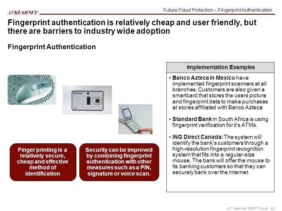 Future Fraud Protection – Fingerprint Authentication
