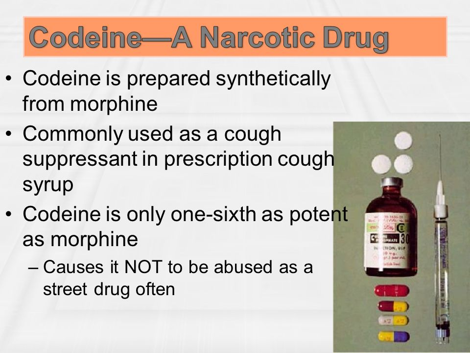 codeine in narcotics Send us some feedback we are still trying to improve the new pharmgkb do you have any comments on this page.