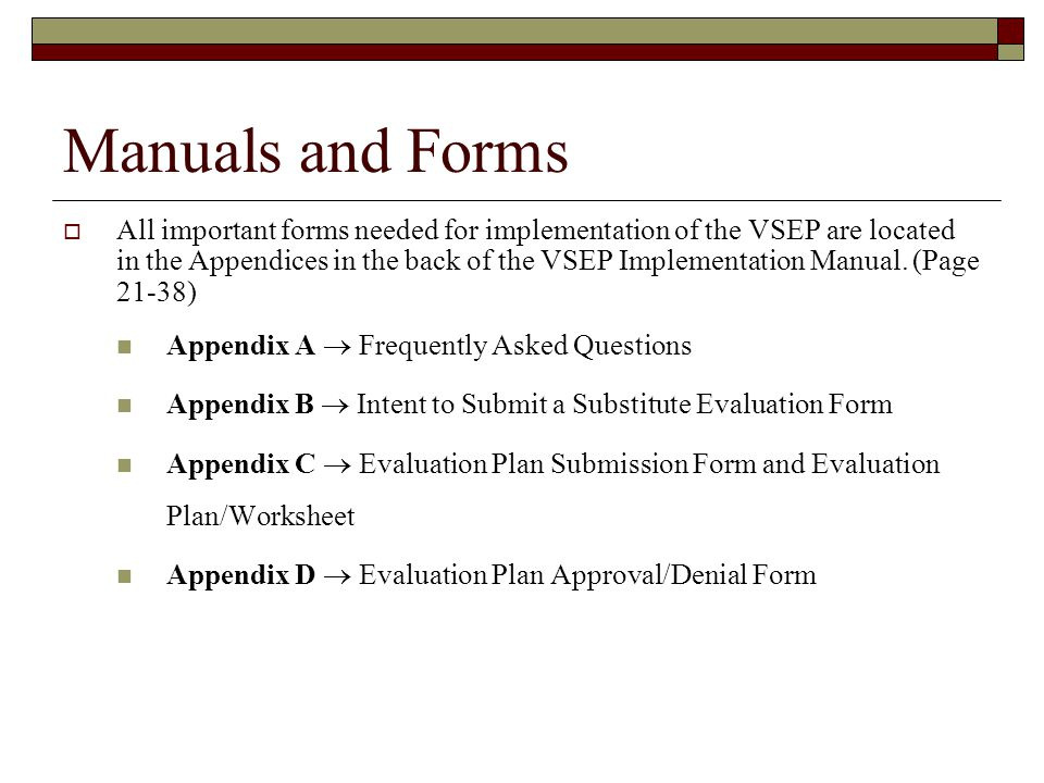 Virginia Substitute Evaluation Program - Ppt Video Online Download