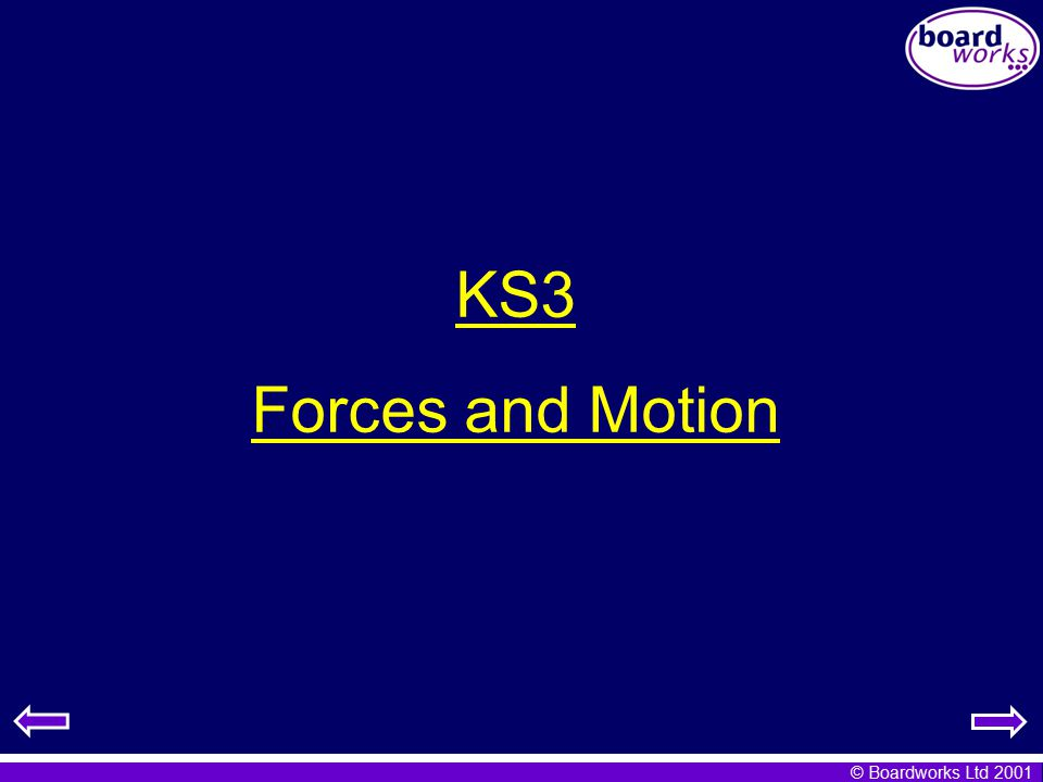 Ks3 Forces And Motion Ppt Video Online Download