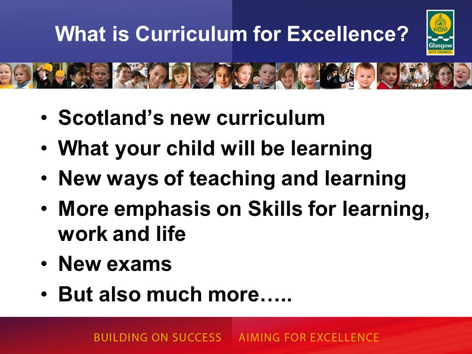 What is Curriculum for Excellence