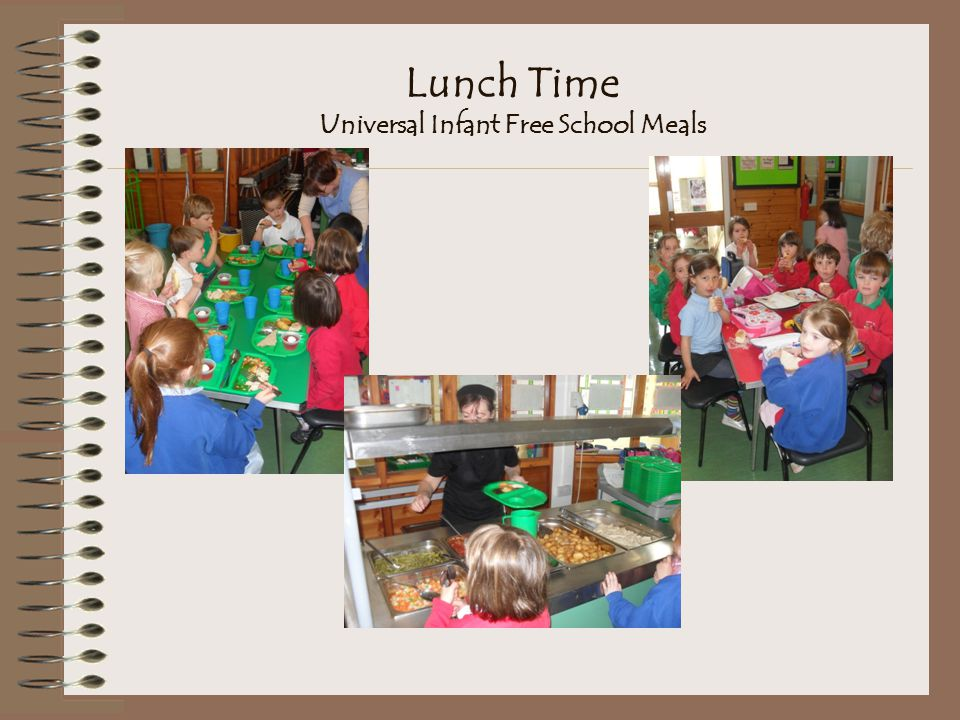 Lunch Time Universal Infant Free School Meals