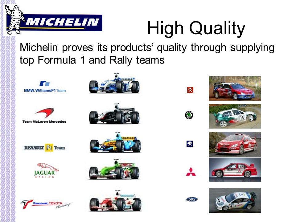 michelin swot analysis Swot analysis : the swot analysis for michelin is given below: strengths weaknesses 1one of the largest manufacturers of.