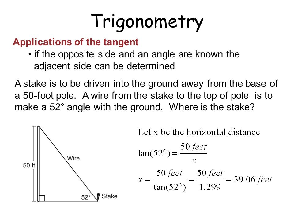 applications of trigonometry Applications of trigonometry 1 dharmik bhatt(17) jay patel (28) aman juneja(14) harsh kahar(20) 2 trigonometry in astronomy • measuring distances to objects within our galaxy is not always.