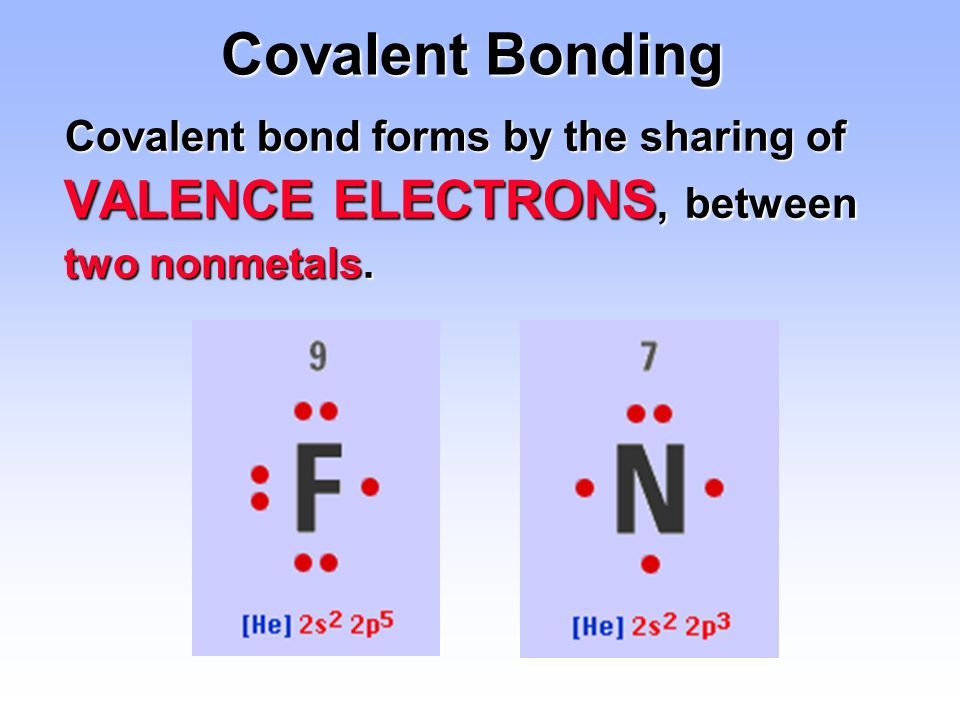 how to show covalent bonding